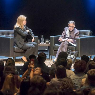 Justice Ruth Bader Ginsburg on overcoming the odds
