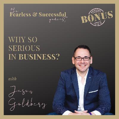 Jason Goldberg: Why so serious?
