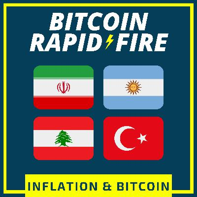 TALKING INFLATION WITH BITCOINERS IN IRAN, TURKEY, LEBANON & ARGENTINA