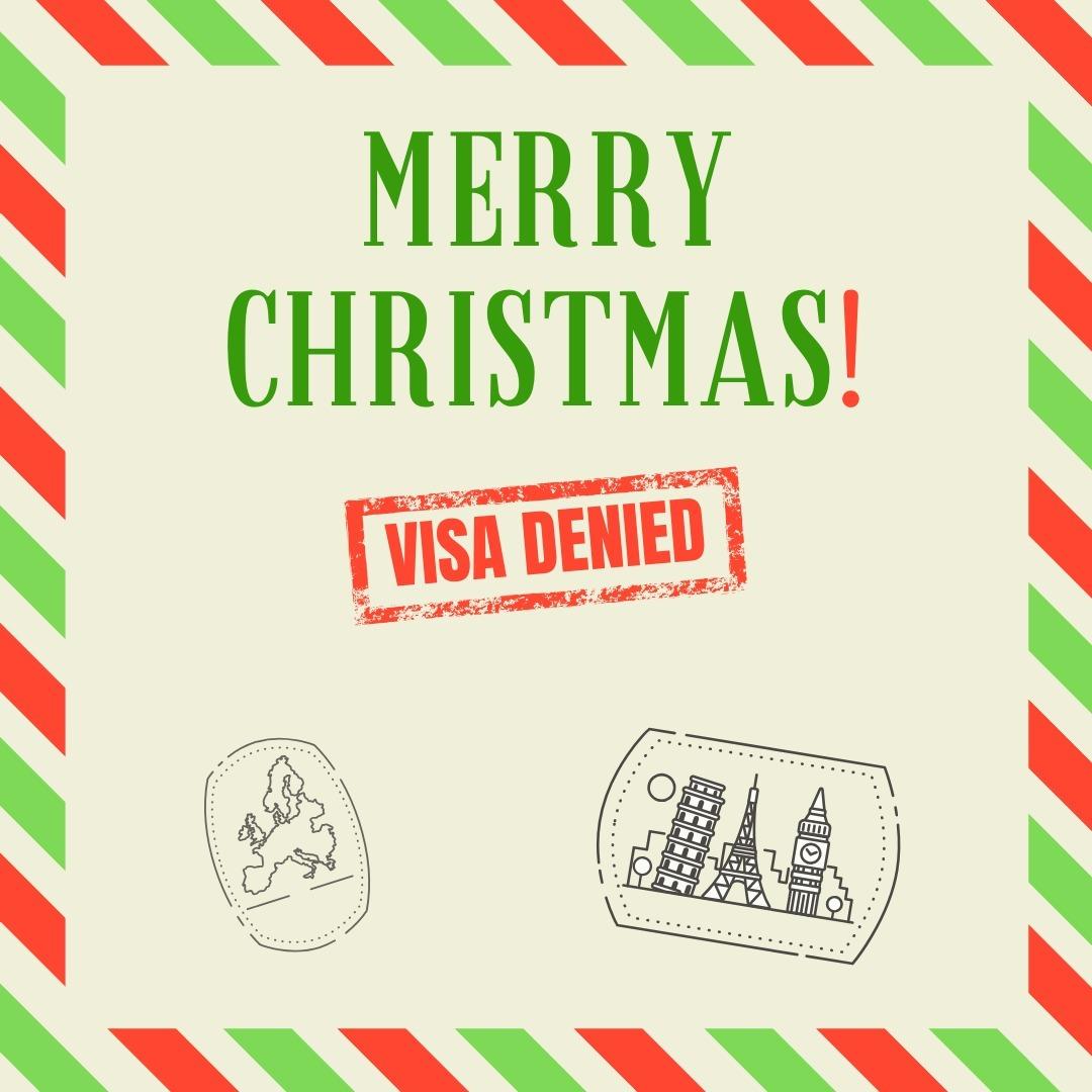 Merry Christmas! Visa Denied: Season 2 Episode 9