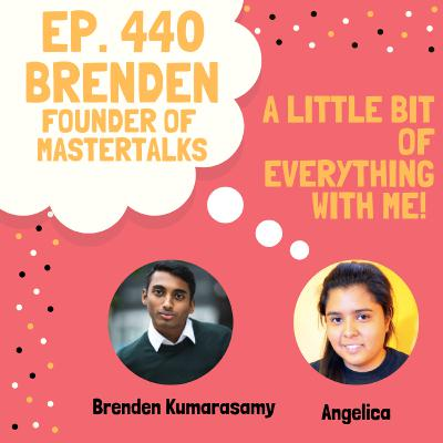 Brenden Kumarasamy - Founder of MasterTalk