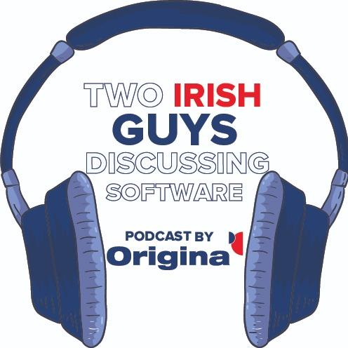 Two Irish Guys Discussing Software