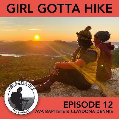 12. Avalou Baptiste & Claydona Dennie of TriState Hikers