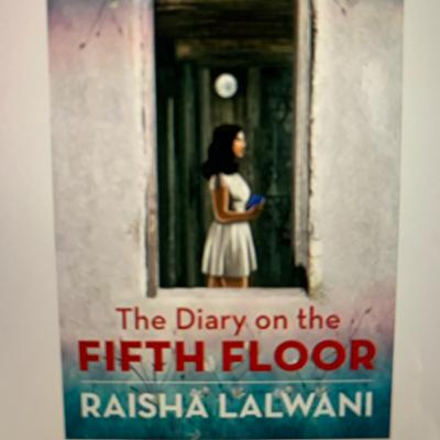 """""""The Diary On The Fifth Floor"""" by Raisha Lalwani. A book review."""