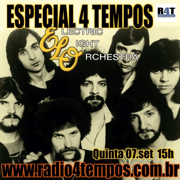 Rádio 4 Tempos - Especial 4 Tempos - ELO