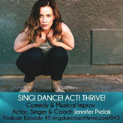 Jennifer Pielak: Comedy & Musical Improv Actor, Singer & Coach