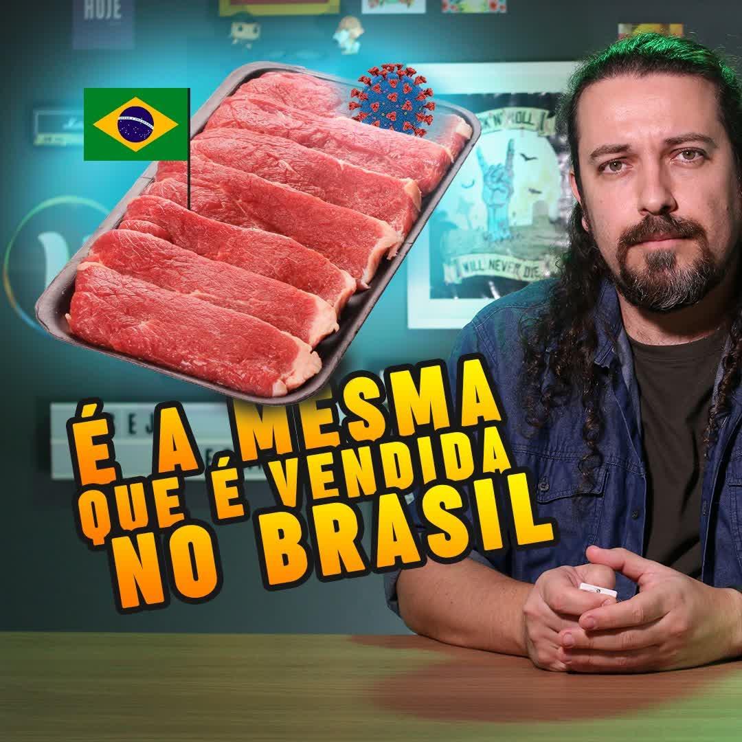 China suspende carnes de boi e de frango vindas do Brasil por medo de contaminação
