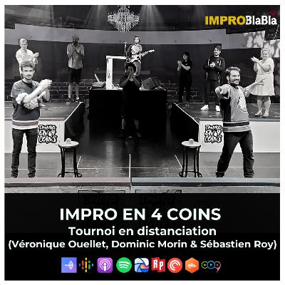 Impro en 4 Coins - Tournoi d'improvisation en distanciation