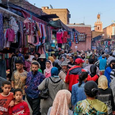 Morocco: a thousand year history, culture, Islam, traditional spices & food.