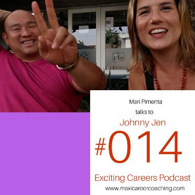 """Johnny Jen, Founder of """"Nomad Summit"""", personal transformation blogger, podcaster, living and sharing his online journey."""