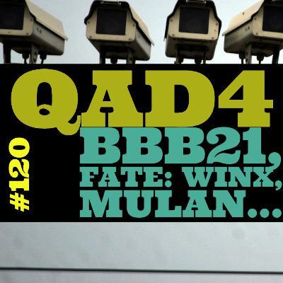 #120 - BBB21, Fate: Winx, Mulan...