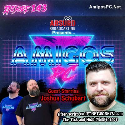 143 Joshua Schubart After series on IFTnetwork, The Tick, and High Maintenance