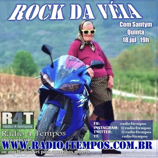 Rádio 4 Tempos - Rock da Véia 64:Rádio 4 Tempos