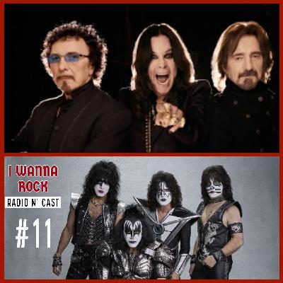 I Wanna Rock #11- Volta do Black Sabbath aos palcos? e aposentadoria do Kiss adiada.