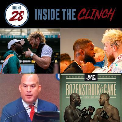 Round 28- Paul Brother's Upcoming Fights | Tito Ortiz Resigns as Huntington Beach Mayor | UFC Jairzinho Rozenstruik vs Augusto Sakai Preview
