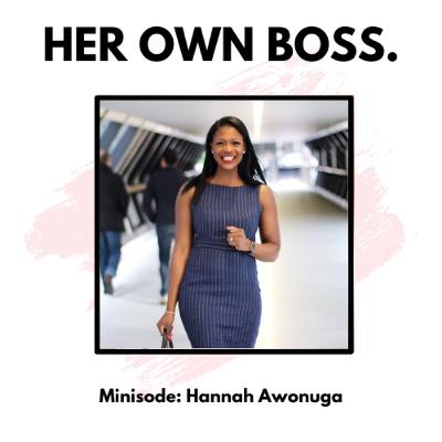 Minisode: How to be consciously inclusive with Hannah Awonuga