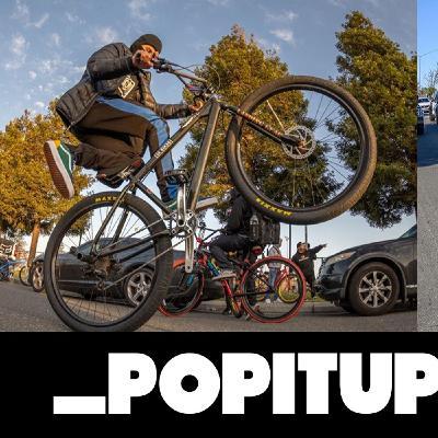 Big BMX Rider Noah Helmer visits MisFit HQ with his SE Bike