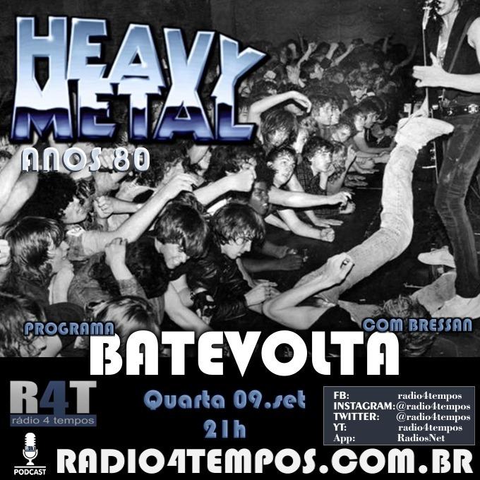 Rádio 4 Tempos - BateVolta 186:Rádio 4 Tempos