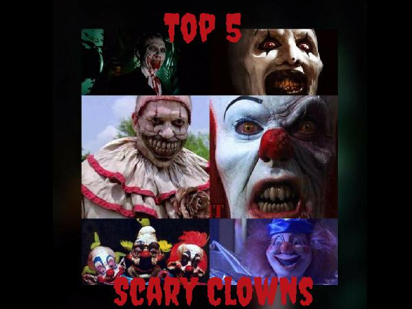Top 5 #1 Scary Clowns