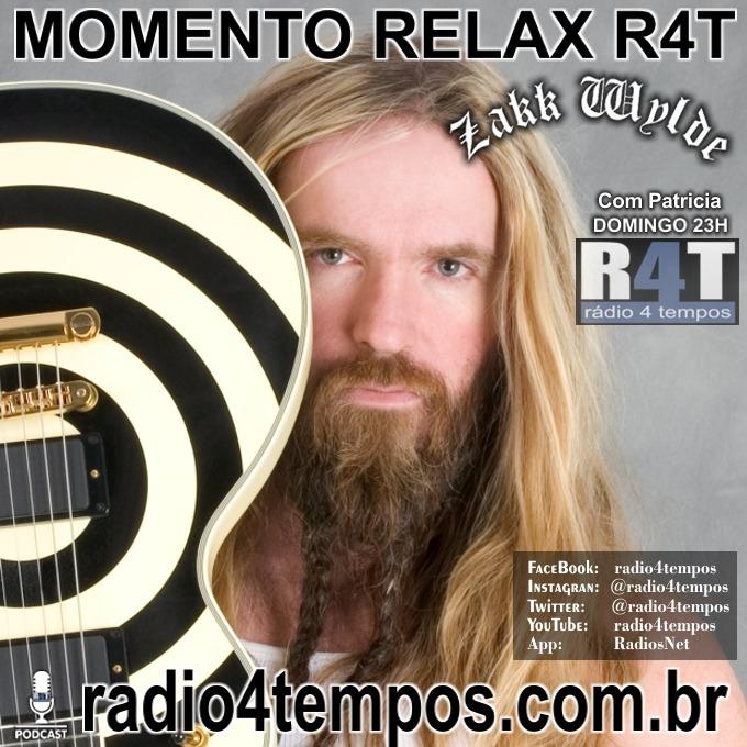 Rádio 4 Tempos - Momento Relax - Zakk Wylde:Rádio 4 Tempos