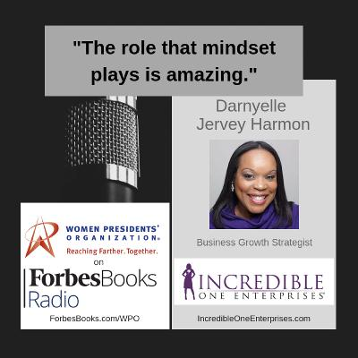 Darnyelle Jervey Harmon is a business growth strategist at Incredible One Enterprises (IncredibleOneEnterprises.com); she helps business owners connect messaging and marketing to sales, systems and scalability, so they can profitably impact the world.