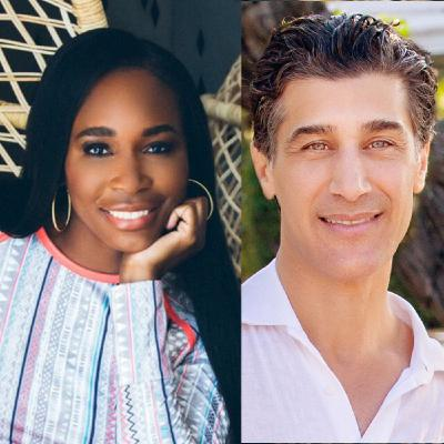 Tennis Legend Venus Williams & Zeel CEO Samer Hamadeh