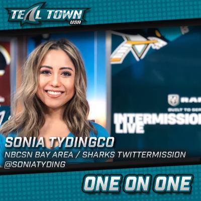 One on One with Sonia Tydingco - NBCSN Bay Area / Sharks Twittermission