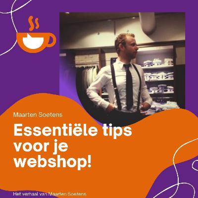 Essentiële tips voor je webshop!