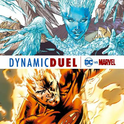 Killer Frost vs Human Torch