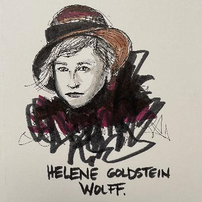Helene Goldstein Wolff, who saved her children from the Nazis. A conversation with Sonia Levitin