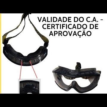 VALIDADE DO CA DO EPI - EQUIPAMENTO DE PROTEÇÃO INDIVIDUAL