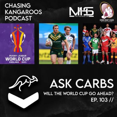 Ep #103: Will the World Cup go ahead? (Ask Carbs)