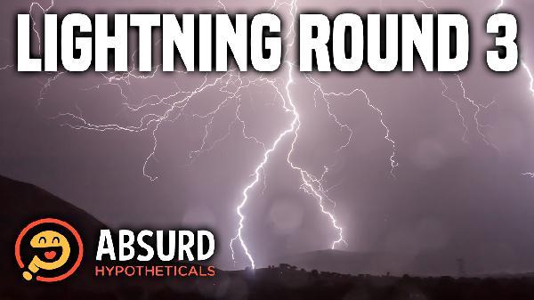Episode 30: Lightning Round 3