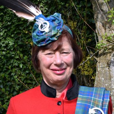 Madam Pauline Hunter of Hunterston: Chief of Clan Hunter