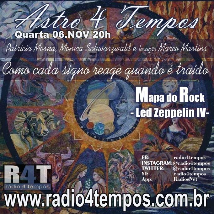 Rádio 4 Tempos - Astro 4 Tempos 23:Rádio 4 Tempos