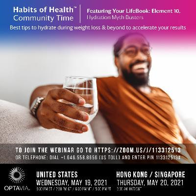 Episode 225: Your LifeBook, Element 10: Hydration Myth Busters: Best Tips to Hydrate During Weight Loss & Beyond
