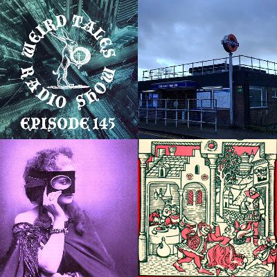 Episode 145: Weird Fiction, Haunted Tube Stations & Candlemas Folklore