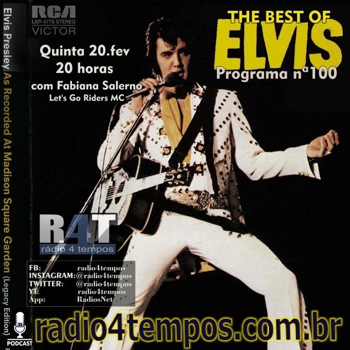 Rádio 4 Tempos - The Best of Elvis 100:Rádio 4 Tempos