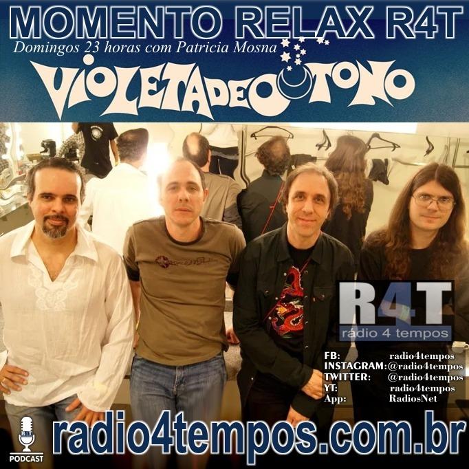 Rádio 4 Tempos - Momento Relax - Violeta de Outono - Spaces:Rádio 4 Tempos