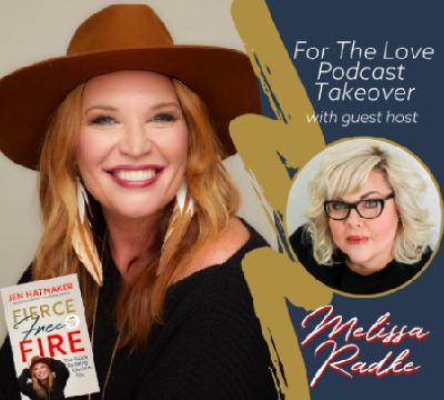 Fierce, Free, & Full of Questions: Melissa Radke Gets Jen to Tell It All