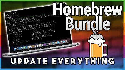 HOM 9: Homebrew Bundle: Set Up a Mac Fast