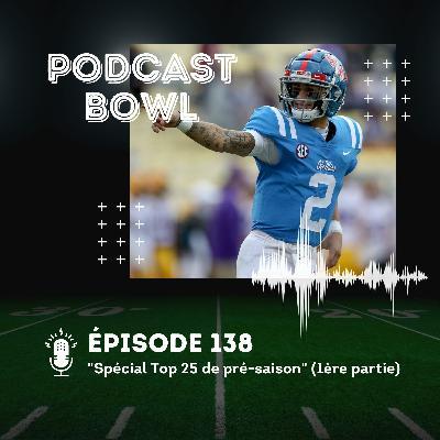 Podcast Bowl – Episode 138 : Spécial Top 25 de pré-saison 2021 (1ère partie)