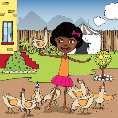 Refiloe and the Washed Chickens