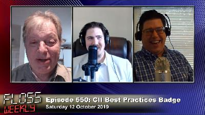 FLOSS Weekly 550: CII Best Practices Badge Update