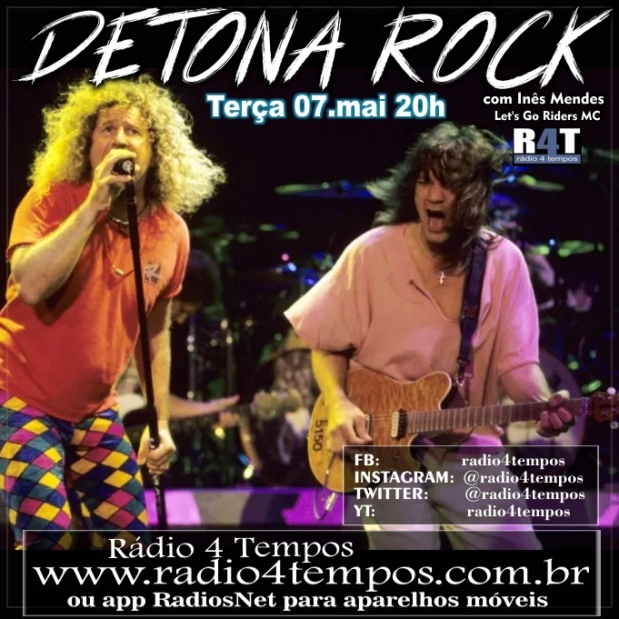 Rádio 4 Tempos - Detona Rock 12:Rádio 4 Tempos