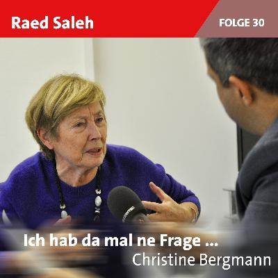 Folge 30: Christine Bergmann