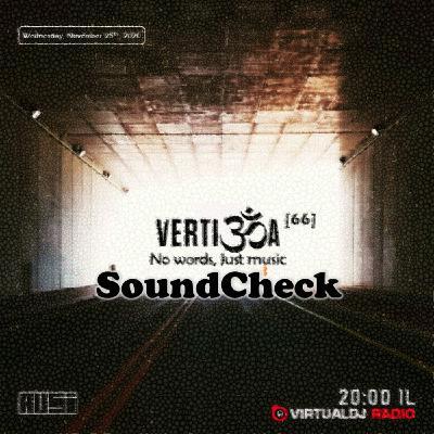 SoundCheck @Vertigoa 2020-11-25