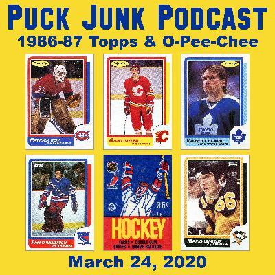 1986-87 Topps & O-Pee-Chee Hockey Cards | #52 | 3/24/2020