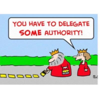 # 14 - Delegar responsabilidade ou autoridade?