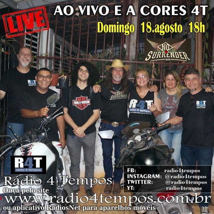 Rádio 4 Tempos - Ao Vivo E a Cores 59:Rádio 4 Tempos